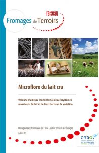 Ouvrage microflore lait cru